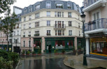 Le Plessis-Robinson, an urban extension to Paris, still under construction.